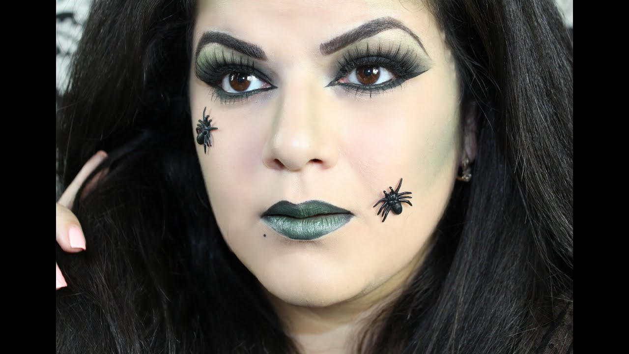 Halloween witch makeup tutorial youtube for Como pintarse de bruja guapa