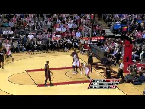 Miami Heat vs Toronto Raptors (103 - 95) February 16, 2011