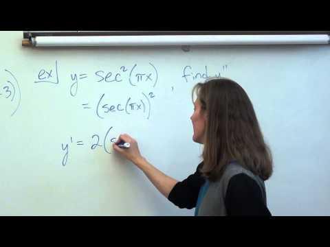 Price AP Calculus AB:  Trig Derivatives