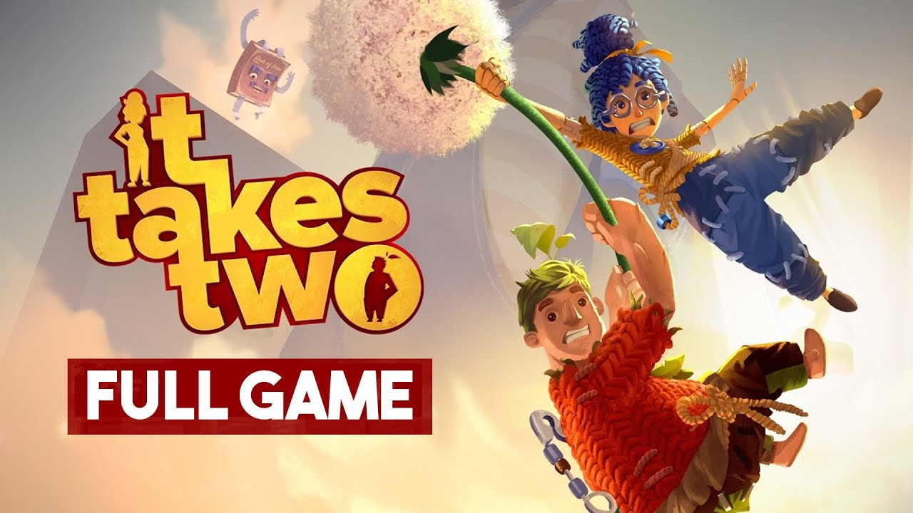 Download It Takes Two Gameplay Walkthrough FULL GAME (no commentary)