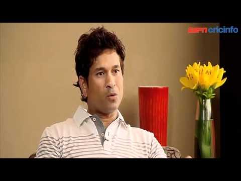 Sachin Tendulkar discusses his century against South Africa!