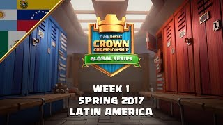 Clash Royale: Crown Championship Top 8 (LATAM, Week One) - Crown Championship