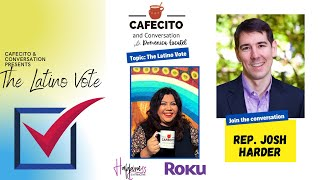 Cafecito and Conversation with Rep. Josh Harder