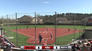 Reddies Softball vs. Northwestern Oklahoma (Games 3 & 4)   March 16, 2019