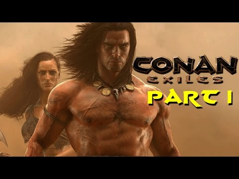 Conan Exiles Multiplayer Gameplay PvP!  Let's Play Conan Exiles Part 1!