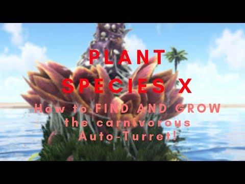 ARK Mobile: Guide for Plant X: Getting Seeds, Growing, ATTACK-PLANT!