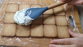 Простые рецепты тортов на скорую руку Торт из печенья без выпечки