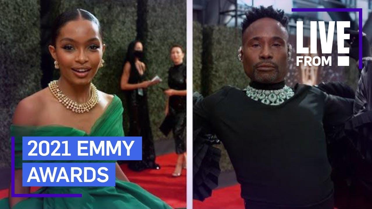 Best of GLAMBOT: 2021 Emmy Awards