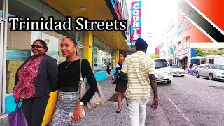 Walking TRINIDAD Streets - Capital Port of Spain (4K) - Sept 2017