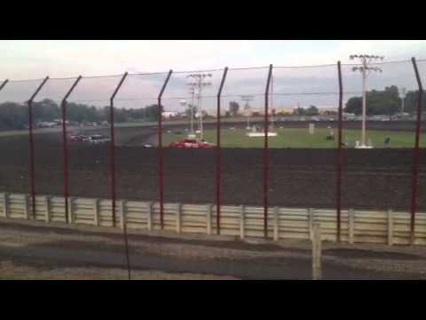 I-69 Gas City Speedway thunder car heat 8-16-13