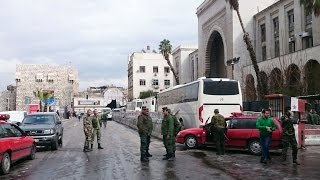 Final retreat: Syrian rebels evacuate from last stronghold in Homs