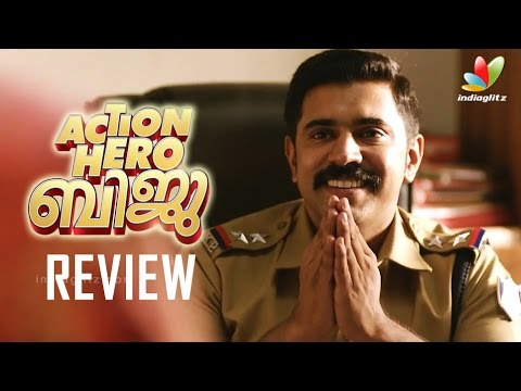 Action Hero Biju Full Movie Review   Nivin pauly,  Abrid Shine, Anu Emmanuel