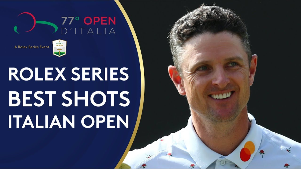 Best shots of the 2019 Italian Open | Best of Rolex Series