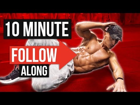 Intense 10 Minute ABS Workout! (Follow Along)