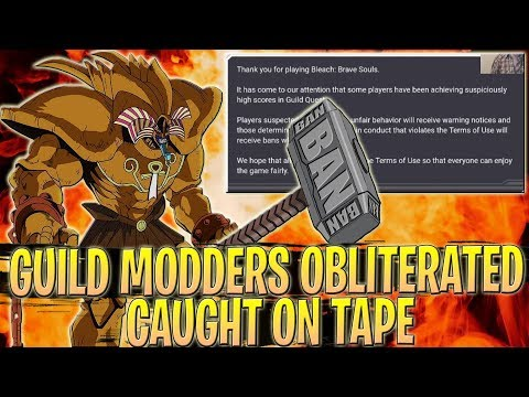 KLAB OBLITERATES GUILD MODDERS (Caught On Tape!!) | Bleach Brave Souls