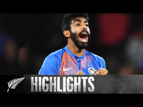 Bumrah Magic In Series Finale | FULL HIGHLIGHTS | BLACKCAPS v India - 5th T20, 2020 - NZC