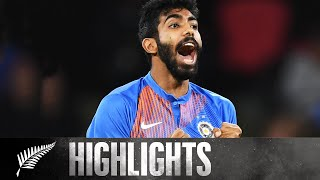 Bumrah Magic In Series Finale | FULL HIGHLIGHTS | BLACKCAPS v India - 5th T20, 2020