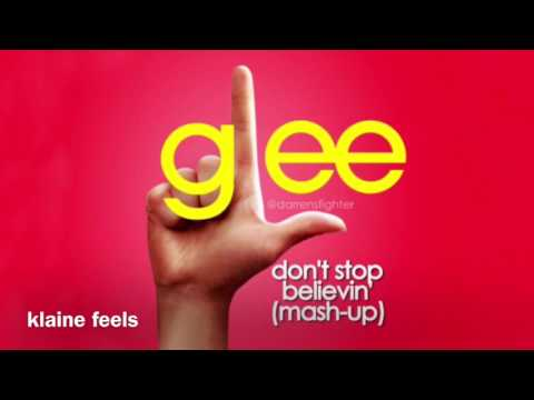 Glee - Don't Stop Believin' (Mash-Up) (Audio)
