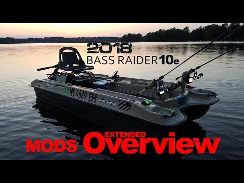 Pelican Bass Raider 10e - MODS Overview