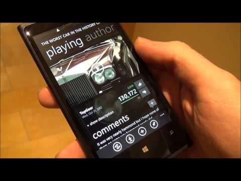 MetroTube for Windows Phone 8