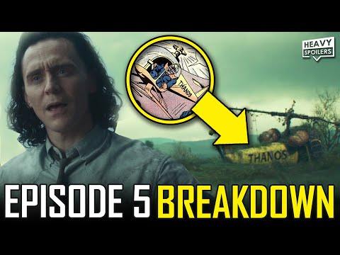 LOKI Episode 5 Breakdown & Ending Explained Spoiler Review   Marvel Easter Eggs & Things You Missed