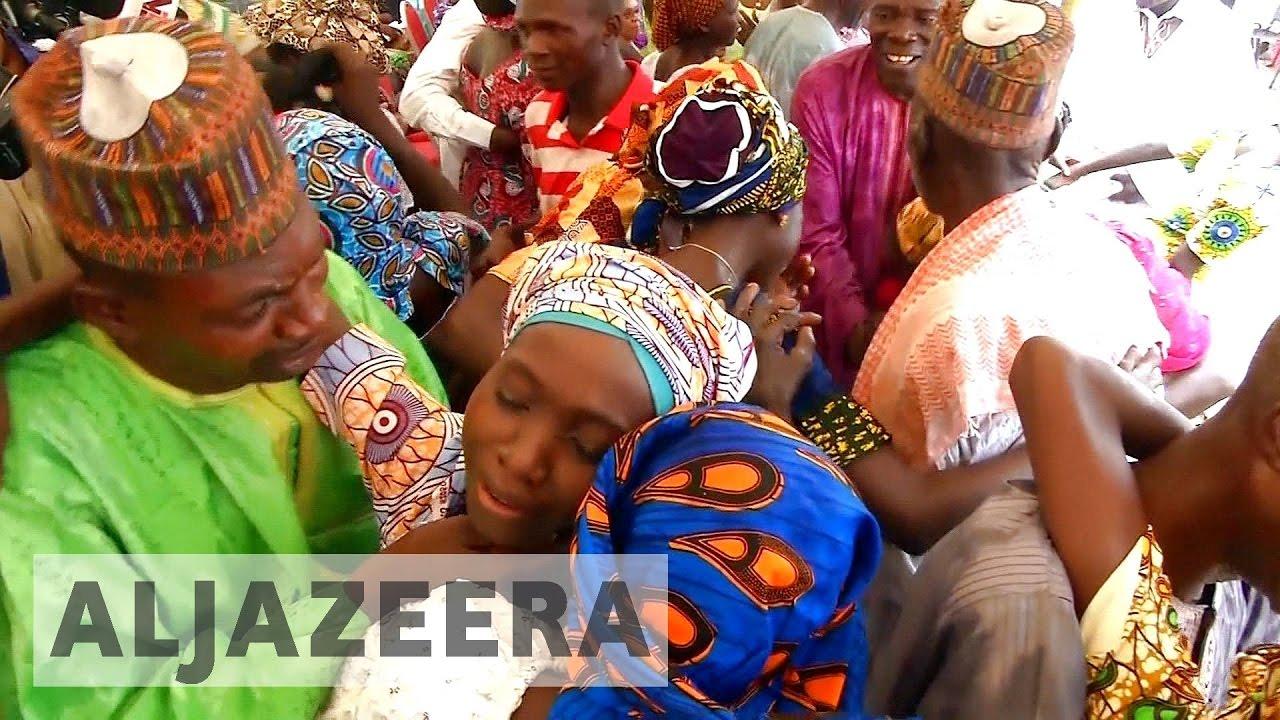 Nigeria: Released Chibok girls in emotional family reunions