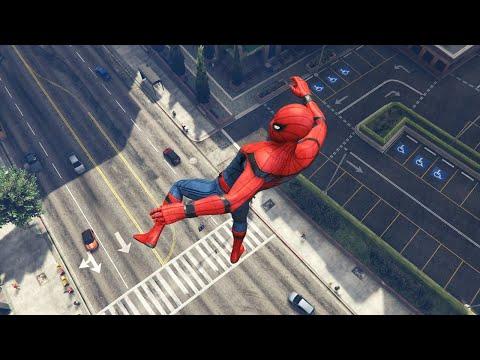 GTA 5 Water Ragdolls | SPIDERMAN Jumps/Fails Ep.46 (Euphoria Physics | Funny Moments)
