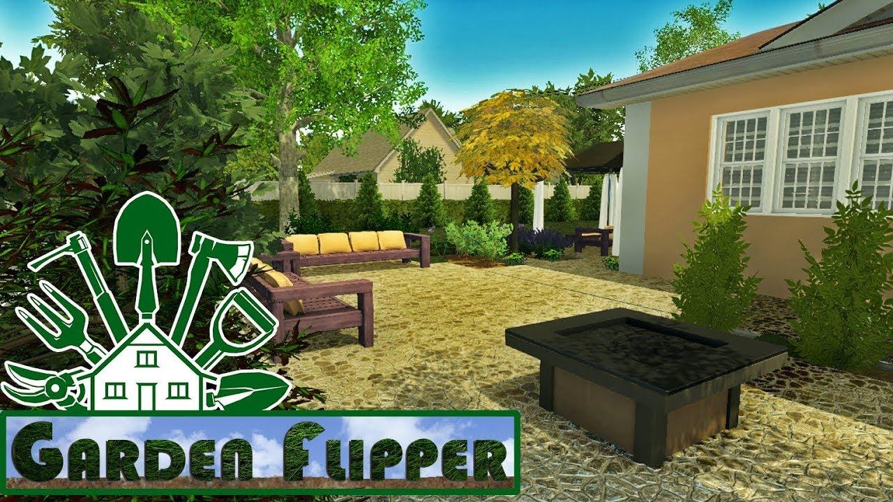 Garden Flipper 13 Schone Terrasse Mit Einer Feuerstelle House Flipper Dlc Youtube