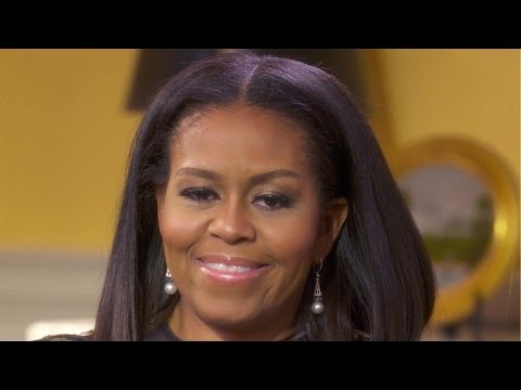 """Michelle Obama on being called an """"angry black woman"""""""
