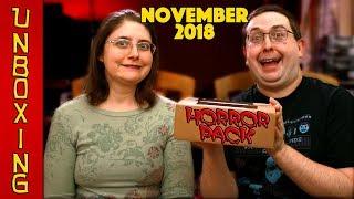 UNBOXING! Horror Pack November 2018 - Horror Movie Subscription Box - Blu Rays