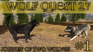 Journey of Two Brothers || Wolf Quest 2.7 - Brothers Journey || Episode #1