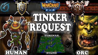 Grubby | Warcraft 3 TFT | 1.30 | HU v ORC on Terenas Stand - Tinker Request