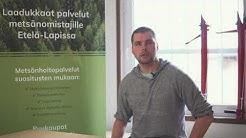 Työharjoittelussa Eetu Dahl – Vaaran Metsä Oy