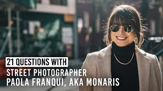 Monaris on Her Cinematic Photography Style & More | 21 Questions