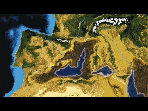 Morze które było pustynią - niezwykła historia powstania Morza Śródziemnego
