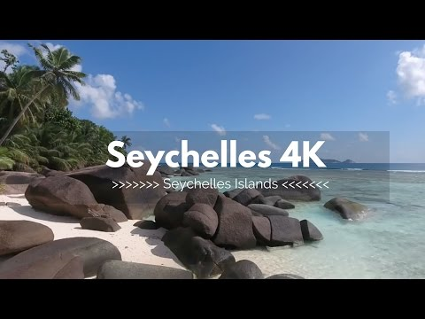4K Seychelles Drone Footage -  DJI Phantom 4