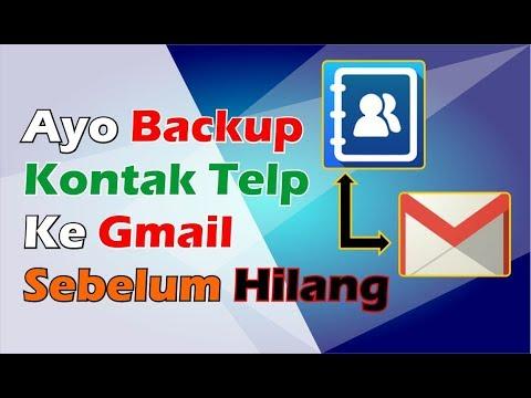 Cara Backup Kontak Ke Gmail Xiaomi Youtube