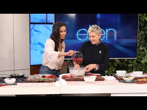 Ellen and Padma Lakshmi Cook Up Some Fun!
