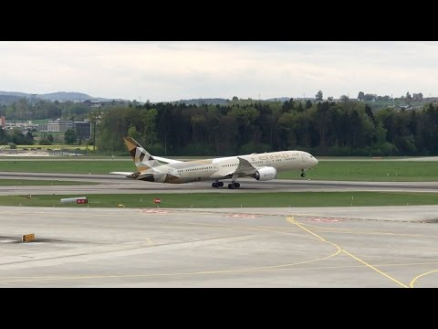 Zürich Airport Planespotting April 2017 - Part 2 (Observation Deck E)