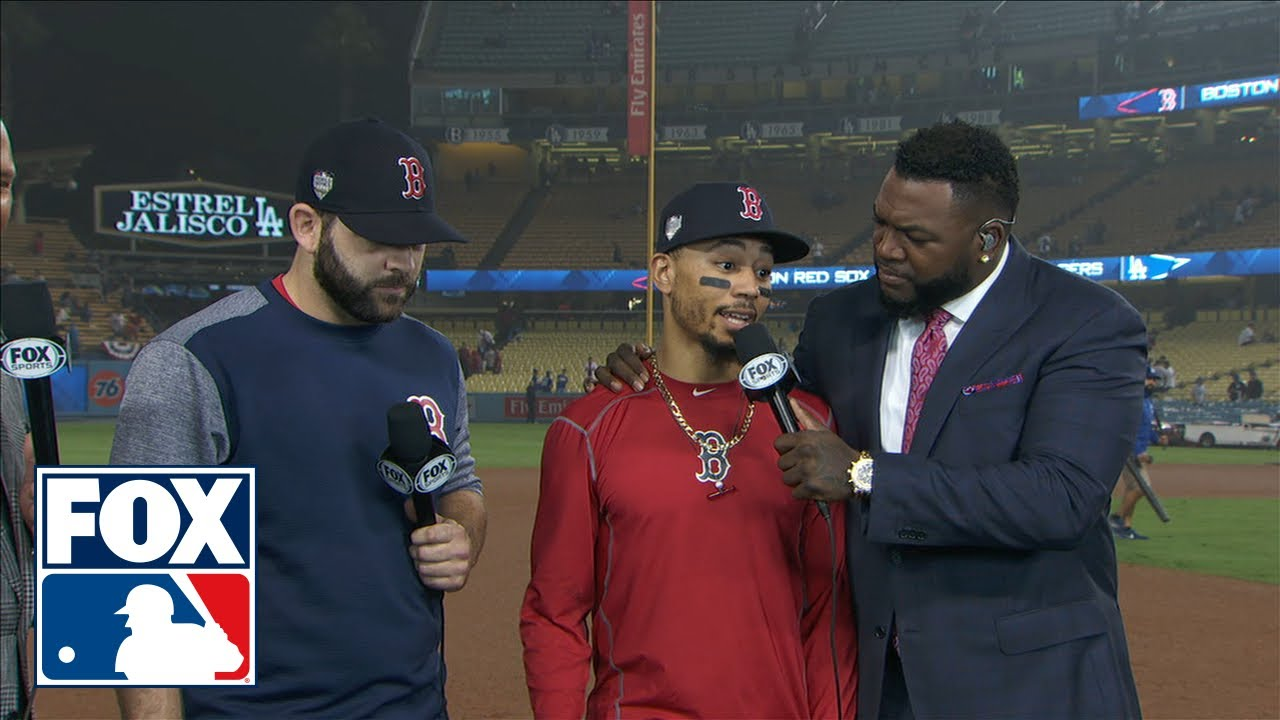 Former Red Sox star Mookie Betts delivers record-setting three ...