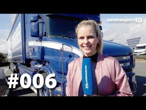 eurotransport TV | Zusatzbeleuchtung, Parkplatz-Blockade, Big Mike, V8