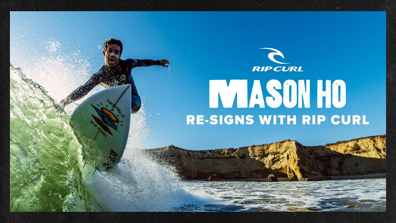 Mason Ho Re-Signs With Rip Curl For 4 More Fun-Filled Years | Rip Curl