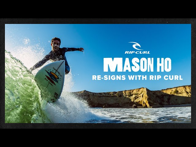 Mason Ho Re-Signs With Rip Curl For 4 More Fun-Filled Years   Rip Curl
