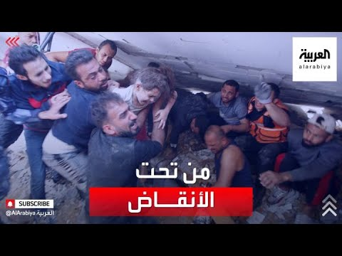 مشاهد مؤثرة لانتشال ضحايا حي الرمال  - نشر قبل 2 ساعة