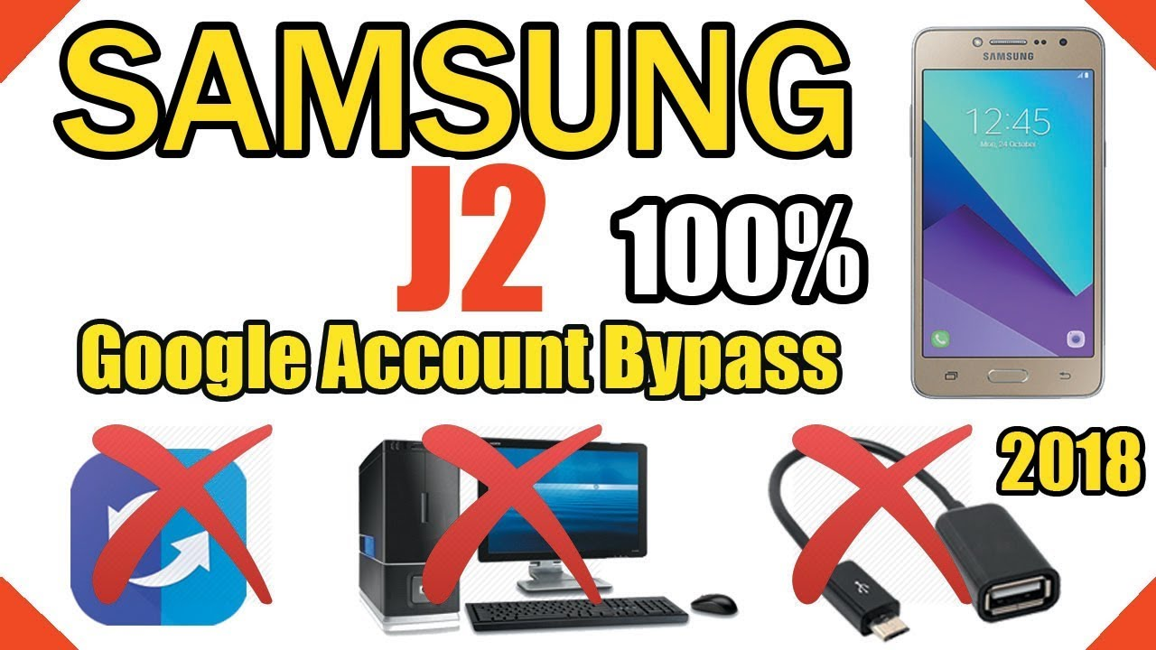 Samsung J2 Bypass Google Account || Without PC,OTG
