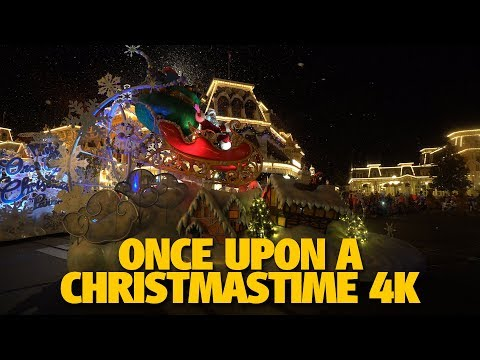 Once Upon A Christmastime Parade | Mickey's Very Merry Christmas Party 2017