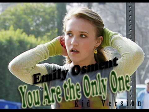 Emily Osment - You Are the Only One KID Version