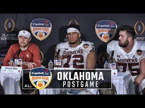Lincoln Riley, Oklahoma players address the media following Orange Bowl loss to Alabama