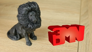 3D Printed Awesome Creation - Hairy Lion By _primoz_