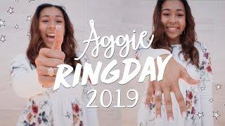 TAMU GAVE ME A PRESENT | Aggie Ring Day 2019; grwm & ring presentation